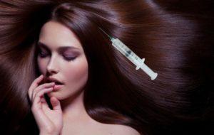 Процедура мезотерапии волос