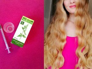 Ускорить рост волос настойкой перечной мяты