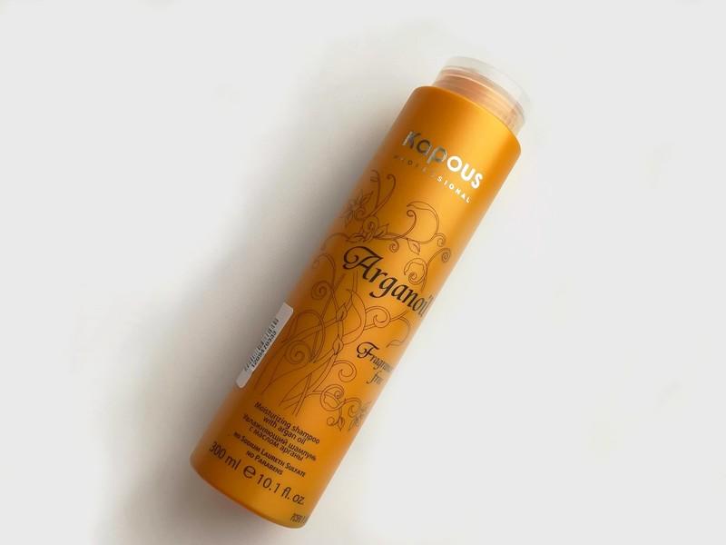 Увлажняющий шампунь Arganoil Kapous — отзыв