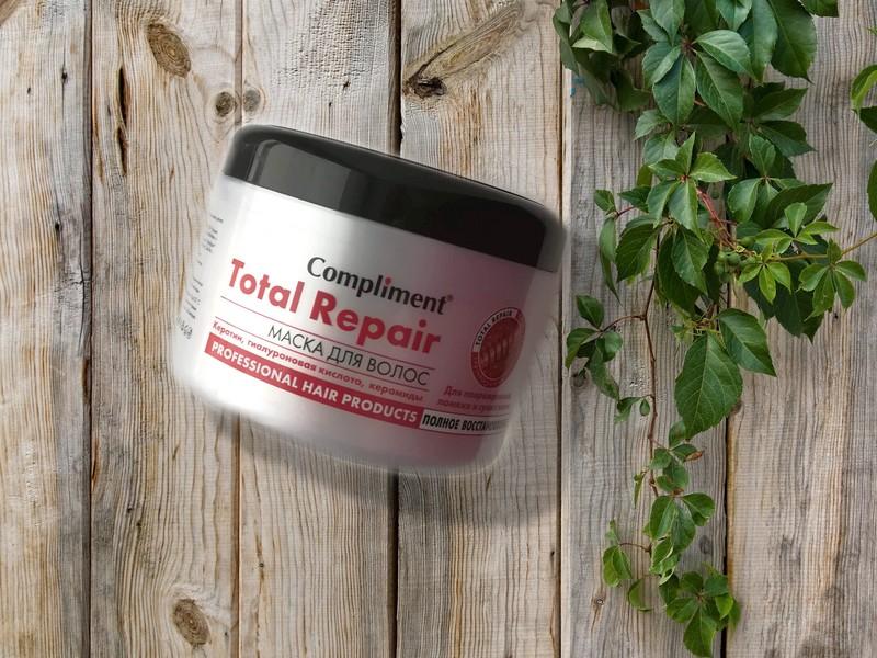 Отзыв о маске для волос Compliment Total Repair