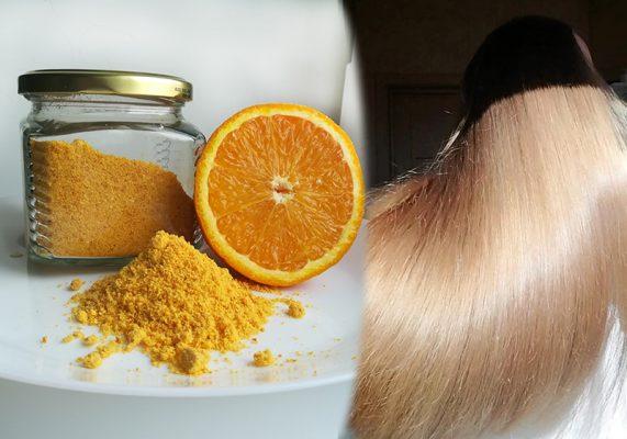 Как приготовить порошок апельсина